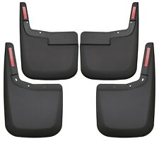 Husky 58446 Mud Guards Black Front & Rear Set 2015-2017 Ford F-150