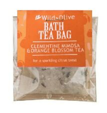Clementine Mimosa and Orange Blossom Tea Bath Tea Bag