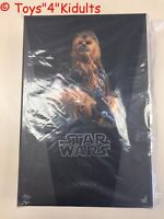 Hot Toys MMS 375 Star Wars Episode VII The Force Awakens Chewbacca Figure NEW
