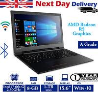 """Lenovo IdeaPad V110-15ISK 15.6"""" Laptop Intel i7 6th-Gen 8GB RAM 1TB HDD Windows"""