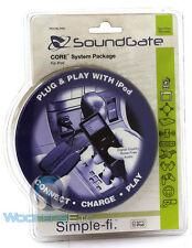 SOUNDGATE PDCBLPAK PLUG CHARGE IPOD PLAY AUDIO VIDEO RCA CABLE CIGARETTE LIGHTER