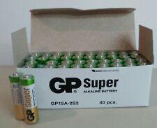 40 Pilas AA  Super alcalinas. Pila alcalina LR06 GP