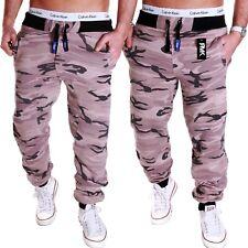 Herren Camouflage Hose Jogging-Hose Sporthose Fitness Sport Damen Army XS-5XL