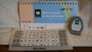 Cricut Cartridge - LIFE IS A BEACH - Gently Used - No Box NOT LINKED!