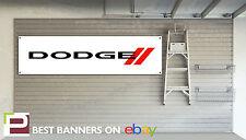 Dodge Workshop Garage Banner, Viper, Challenger, Charger, Ram