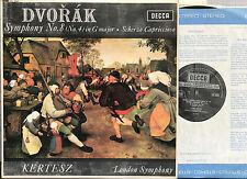 SXL 6044 Dvorak Symphony no. 8 Kertesz NM/EX Vinyl LP