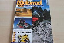 151775) Buell X1 Lightning - BMW K 1200 LT - Motorrad Abenteuer 04/2001