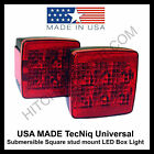 USA MADE LED Submersible Trailer Square stud Lights Under 80