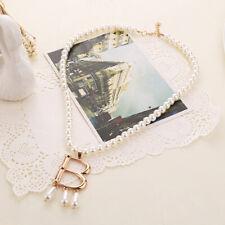 1pc The Tudors Anne Boleyn Faux Pearl Vintage Necklace Choker Jewelry