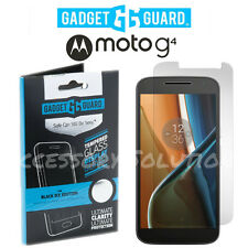 Gadget Guard Motorola Moto G4 Tempered Glass Black Ice Screen Protector