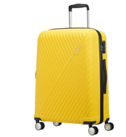 American Tourister Visby Hardside YELLOW Spinner Cabin