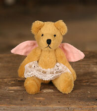 Teddy Bear 'Sunny' Handmade Settler Bears Gift Mini Bear 10cms BRAND NEW