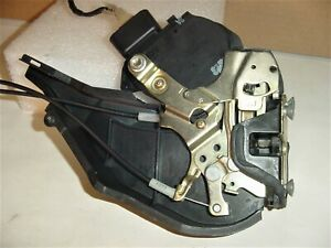 01-05 Lexus IS300 Left Rear Door Lock Latch Actuator w/ Cables + Interior Handle