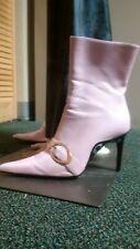Fabulous Pink Go-Go Mid-Calf Boots, sz 9.5