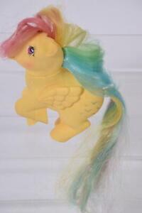 Skydancer Pegasus Rainbow Hair Vintage G1 MLP My Little Pony 1983 Hasbro Figure