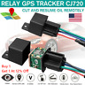 Anti-theft GPS Car Tracker Real Time Device Locator Remote Control Hidden 10-40V