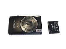 Camera Canon PowerShot ELPH 350 HS Black 25mm Full HD1080 Free Shipping