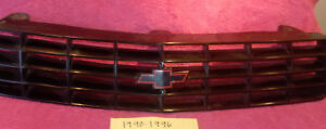 1990-1996  CHEVROLET BERETTA GM FACTORY OEM GRILLE FREE SHIPPING