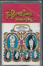 THE PARTRIDGE FAMILY SHOPPING BAG Shirley Jones David Cassidy NEW CASSETTE