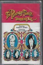 THE PARTRIDGE FAMILY SHOPPING BAG Shirley Jones David Cassidy NEW CASSETTE