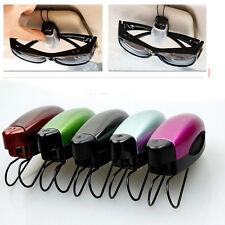 Mini Car Vehicle Accessory Sun Visor Sunglasses Glasses Card Ticket Holder Clip