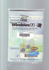 MICROSOFT WINDOWS 95 - PC OPERATING SYSTEM WITH MANUAL - NEW & SEALED