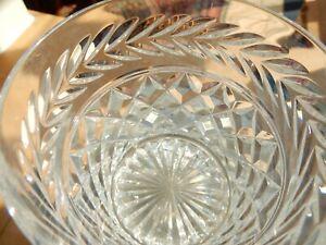 1 x Vintage Stuart Crystal CHELTENHAM Whisky Spirit Tumbler Glass 9cm Signed