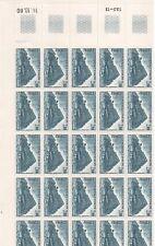 FRANCE FEUILLE NEUVE N°64 CONSEIL DE L .EUROPE  1980  PRIX: 11,95 €