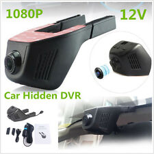 12V Hidden Car HD 1080P 170° WIFI DVR Vehicle camera Video Recorder Night Vision