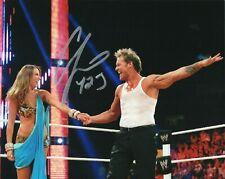 WWE SIGNED PHOTO CHRIS JERICHO Y2J WRESTLING 8x10 WITH COA & PROOF