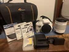 Canon EOS Rebel SL1 W/ 18-55 IS STM Lens Includes Extras.