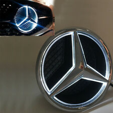 For Mercedes Benz Illuminated LED Light Front Grille Star Emblems Logo 2013-17