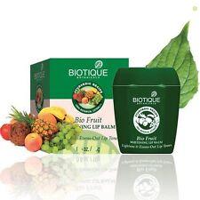 Biotique Fruit Whitening Lip Balm Lightens &Evens-Out Lip Tones 12 Gm