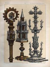Rom Vatikan Kirchenstaat Papst Catholic Church Gold-Schmied Altar Krummstab