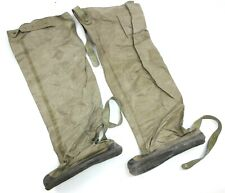 """POLISH ARMY NBC RUBBER OVER BOOTS boot length 13"""""""