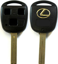 New Remote Key Keyless Replacement Case 3 Button Short Blade Shell For Lexus