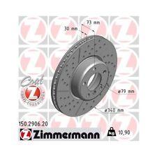 2x Bremsscheibe Bremse NEU ZIMMERMANN (150.2906.20)