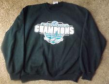 Long Sleeve Black 2004 National Champions Football Conference Sweat Shirt Lg.