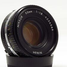 Nikon Nikkor AI-S 50mm 1:1.8 Pancake - Late production - Excellent condition