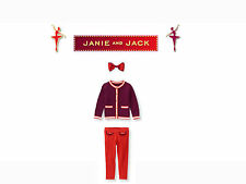 """Janie and Jack baby girl """"Belle of the Ballet""""  3 Piece Set size 3 NEW"""