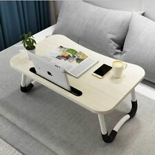 Laptop Bed Table Breakfast Tray with Foldable Legs Portable Lap Standing Desk