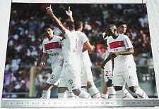 PHOTO 29.5 X 21 PARIS SAINT-GERMAIN PSG ERDING CAMARA BISEVAC FOOTBALL 2011-2012