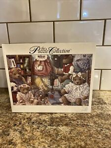 """Puzzle Collection 750 Piece Jigsaw Puzzle """"Teddy Bear Wear"""" New Sealed"""