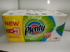 PLENTY KITCHEN ROLL 8 LARGE PACK ( this works out 16 rolls in the old style)