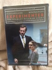 Experimenter DVD Stanley Milgram Story Yale University Obedience Winona Ryder