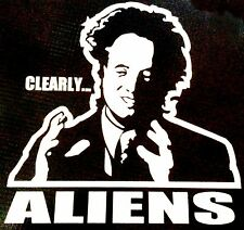 Ancient Aliens Guy Vinyl Decal - for car, laptop, whatever! Tv