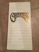 CARPENTERS, FROM THE TOP, CD BOX SET, W/BOOK, 4-DISC SET