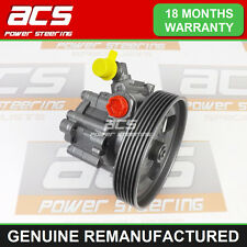 POWER STEERING PUMP PEUGEOT EXPERT 2.0 HDI 2000 TO 2006 - GENUINE RECONDITIONED