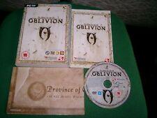 ELDER SCROLLS IV 4 OBLIVION RPG PC DVD-ROM V.G.C. FAST POST COMPLETE