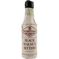 Fee Brothers Black Walnut Cocktail Bitters – 5oz - Bar Drink Mixing Spice Flavor